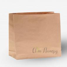 Пакет бумажный 320х150х300 мм коричневый