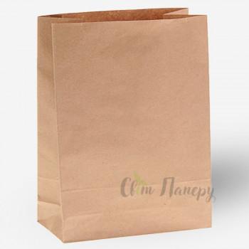 Пакет бумажный 320х150х420 мм коричневый