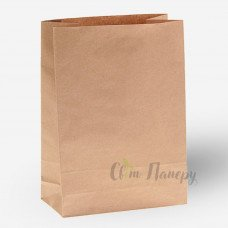 Пакет паперовий 250х150х350 мм коричневий