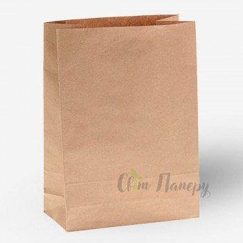 Пакет бумажный 250х150х350 мм коричневый