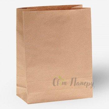 Пакет бумажный 320х150х380 мм коричневый