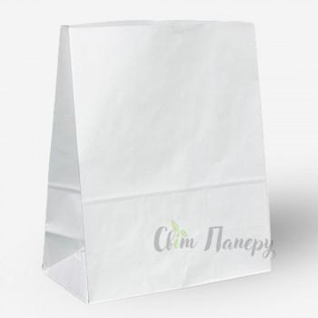 Пакет бумажный 320х150х380 мм белый