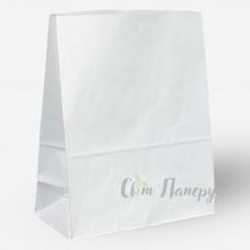 Пакет бумажный 320х150х420 мм белый