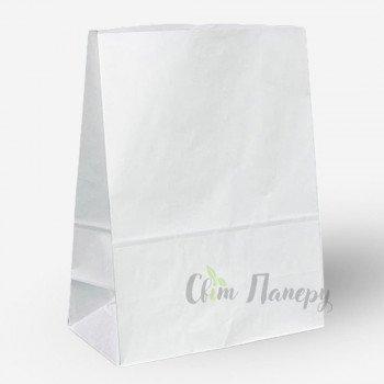 Пакет бумажный 280х140х380 мм белый